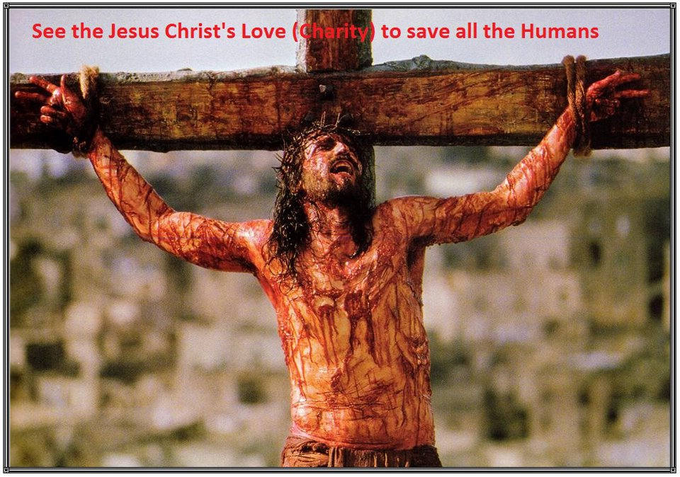True Love - Jesus shows  the real meaning True love
